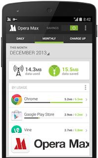 Opera mini max tiết kiệm dữ liệu