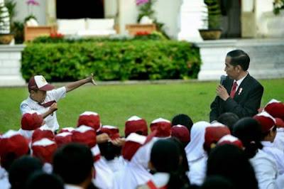 Presiden Mengajak Anak Indonesia Gemar Membaca