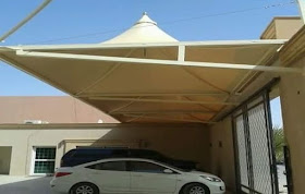 مظلات سيارات الطايف