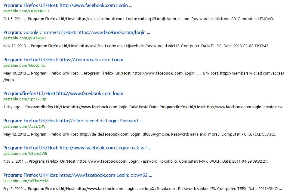 Pastebin Accounts Hacking (Facebook/Paypal/LR/Gmail/Yahoo) | Myanmar