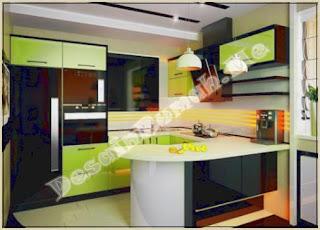 Dapur Rumah Minimalis Ukuran 2 X 3 yang Rapi dan Nyaman