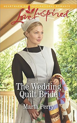 Heidi Reads... The Wedding Quilt Bride by Marta Perry