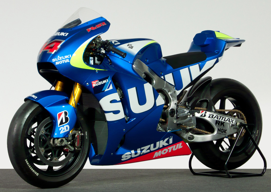 2015 Suzuki MotoGP bike - first official picture