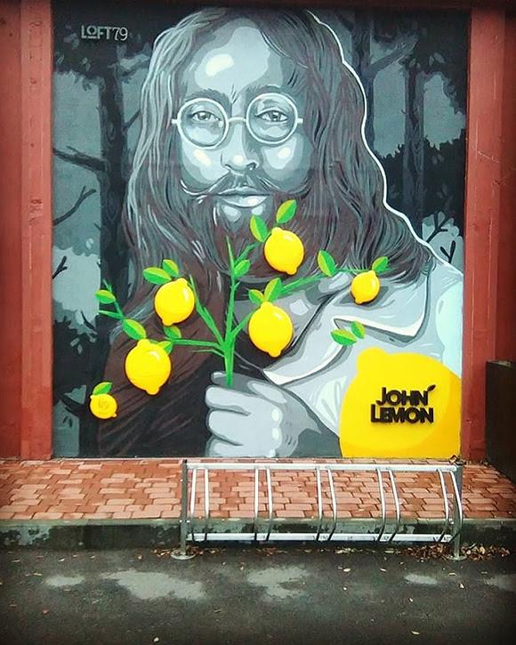 La boisson « John Lemon » pas du tout au goût de Yoko Ono
