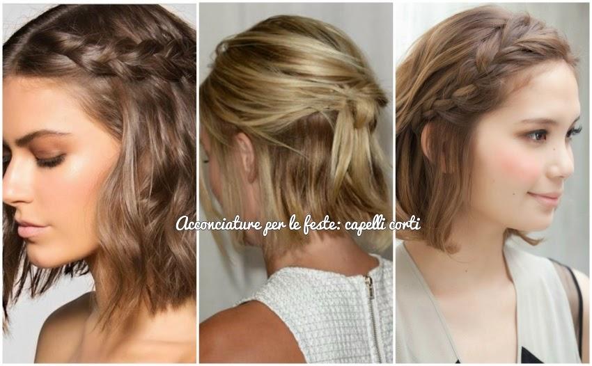 Acconciature semplici e veloci per capelli corti