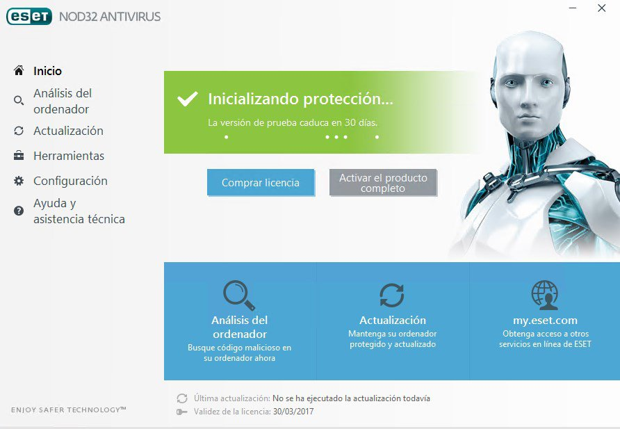 ESET NOD32 Antivirus y Eset Internet Security 10 para 32 y 64 Bits