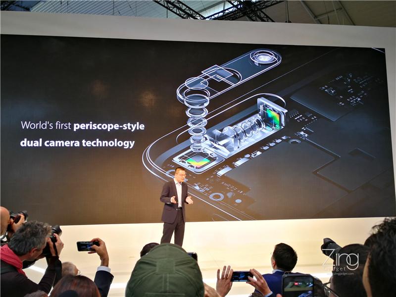 OPPO Memperkenalkan Teknologi 5x Optical Zoom Untuk Kamera Smartphone