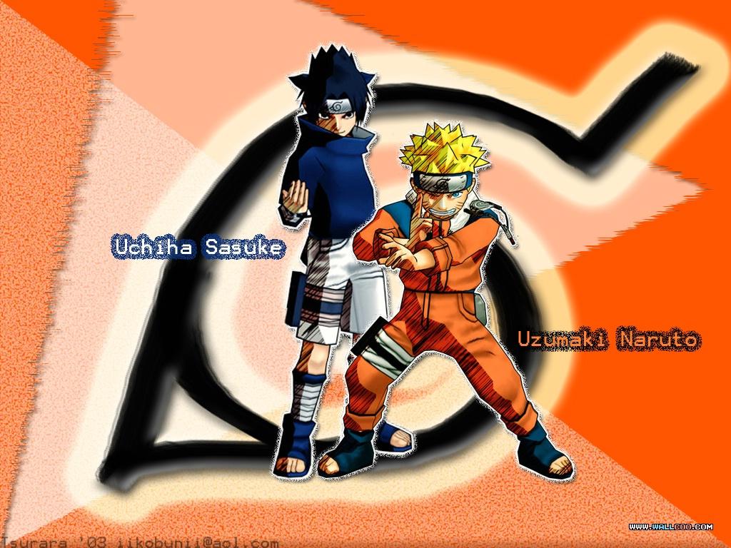 naruto+and+sasuke-anime+wallpaper