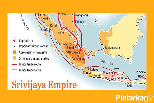 Letak Kerajaan Sriwijaya