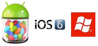 Android 4.0 Ice Cream Sandwich VS iOS6 VS Windows Phone 8