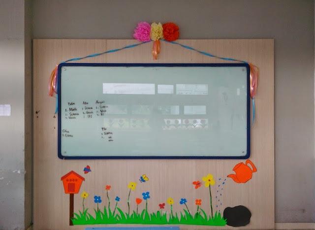 dekorasi ruang kelas sd terbaru