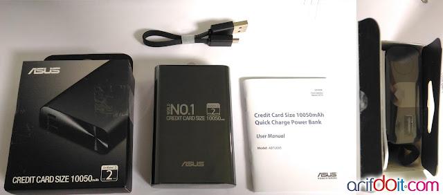 unboxing Asus Zenpower 10050 mAh