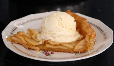 Tarte Tartin con gelato