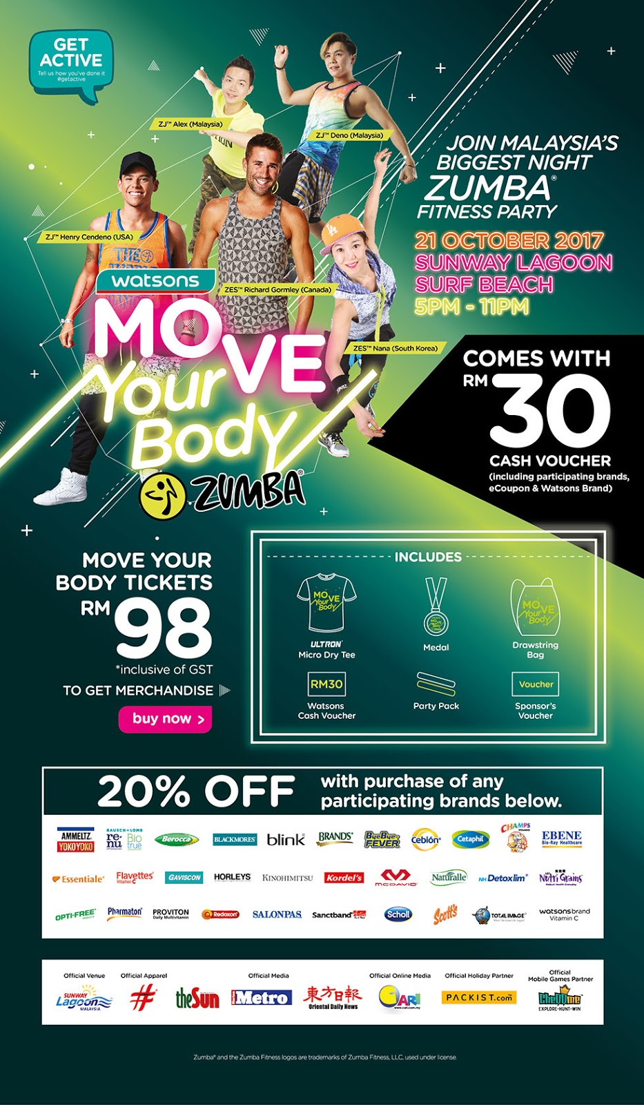Watsons Move Your Body Zumba 2017 2
