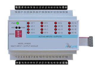 Multiple input output module connects to single receiver or transmitter