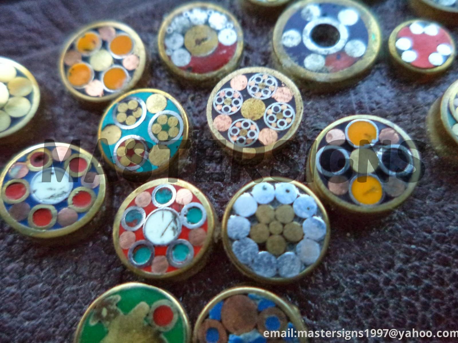 Damascus Steel Products Mosaic Pins Micarta Sheet Resin