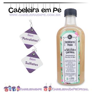 Geleia Corporal Iluminadora Be(M)dita Praia - Lola Cosmetics (Sem Petrolatos)