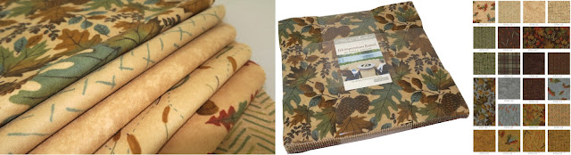 Fall Impressions Flannels fabric collection