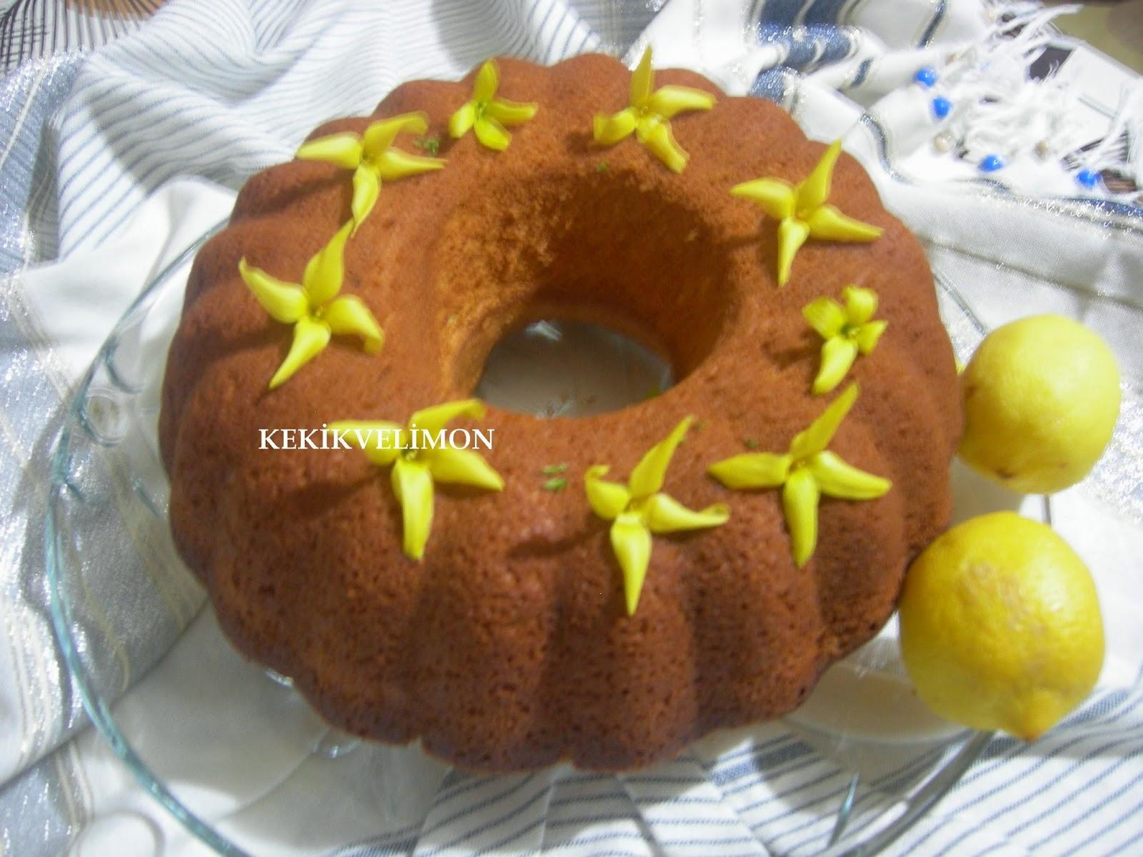 Limonlu Soğuk Kek Tarifi