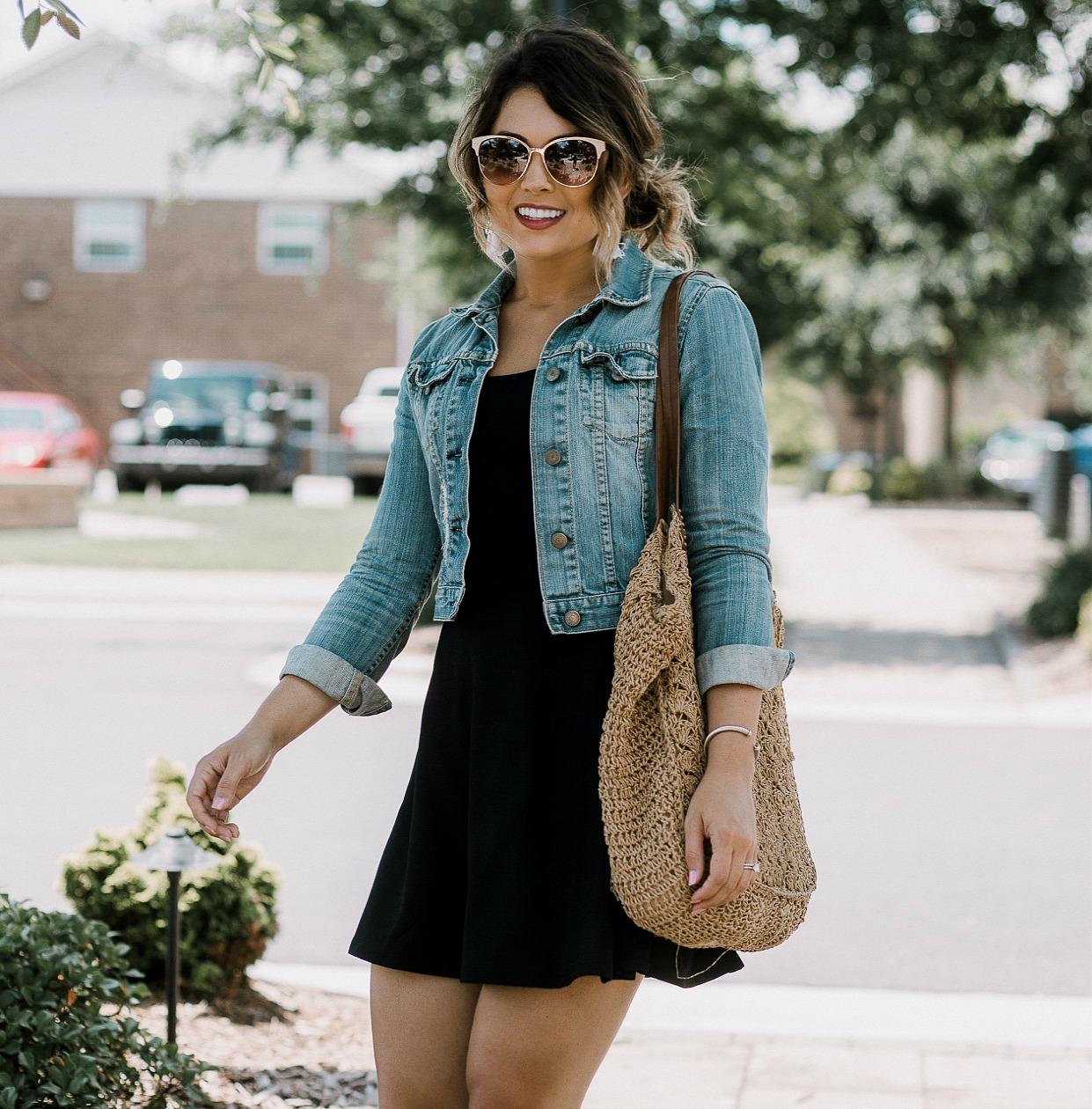 budget fashion, h&m jersey dress