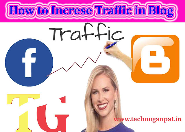 increase traffic on blog through facebook