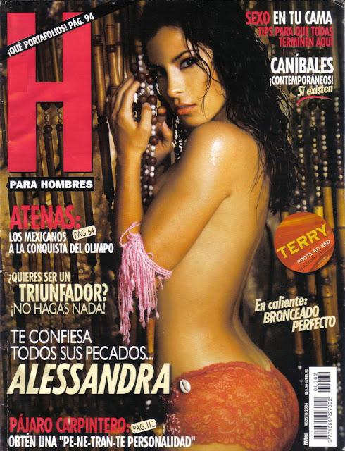 Alessandra Rosaldo Revista H Agosto 2004