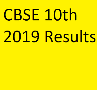 CBSE 10th 2019 Results