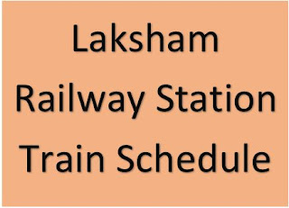 Laksham Railway Station Train Schedule