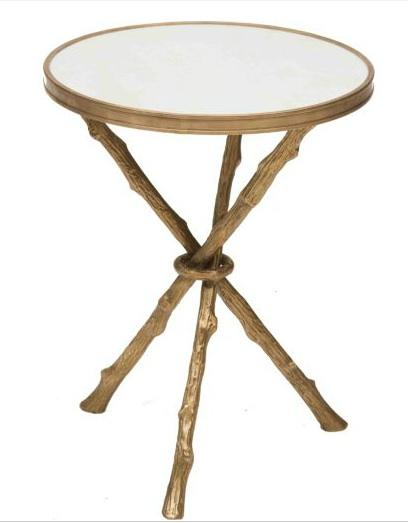 design dump: affordable find: gold twig table