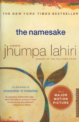 The Namesake by Jhumpa Lahiri - book cover