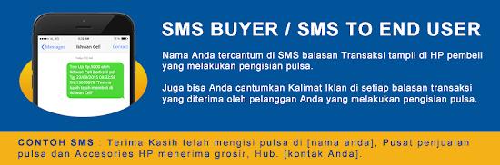 Fasilitas SMS Buyer di Server Jelita Reload Pulsa Termurah Saat Ini