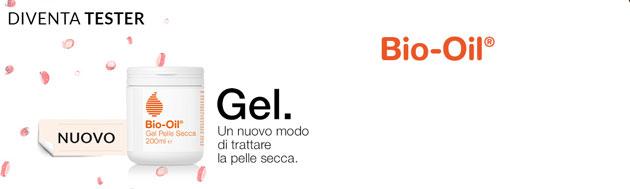 clicca qui per candidarti come tester di Bio-Oil Gel Pelle Secca