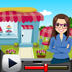 G4K Happy Business Woman Rescue Game Walkthrough