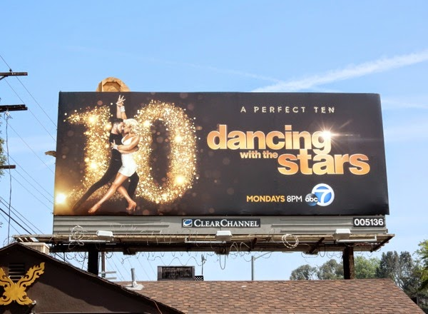 Dancing with the Stars 10 years billboard