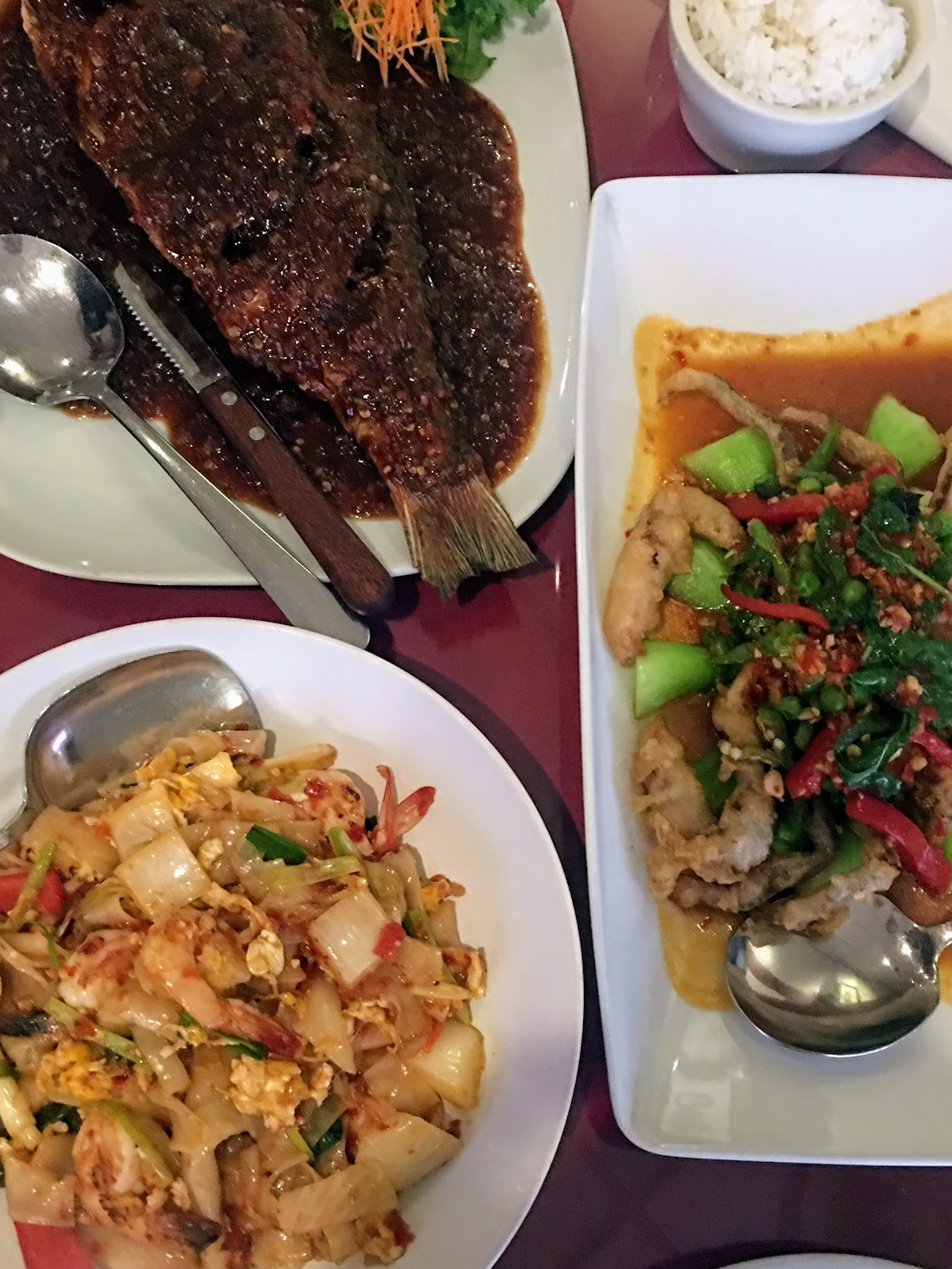 The Sasson Report: Eating Out + Eating In: Bangkok Garden