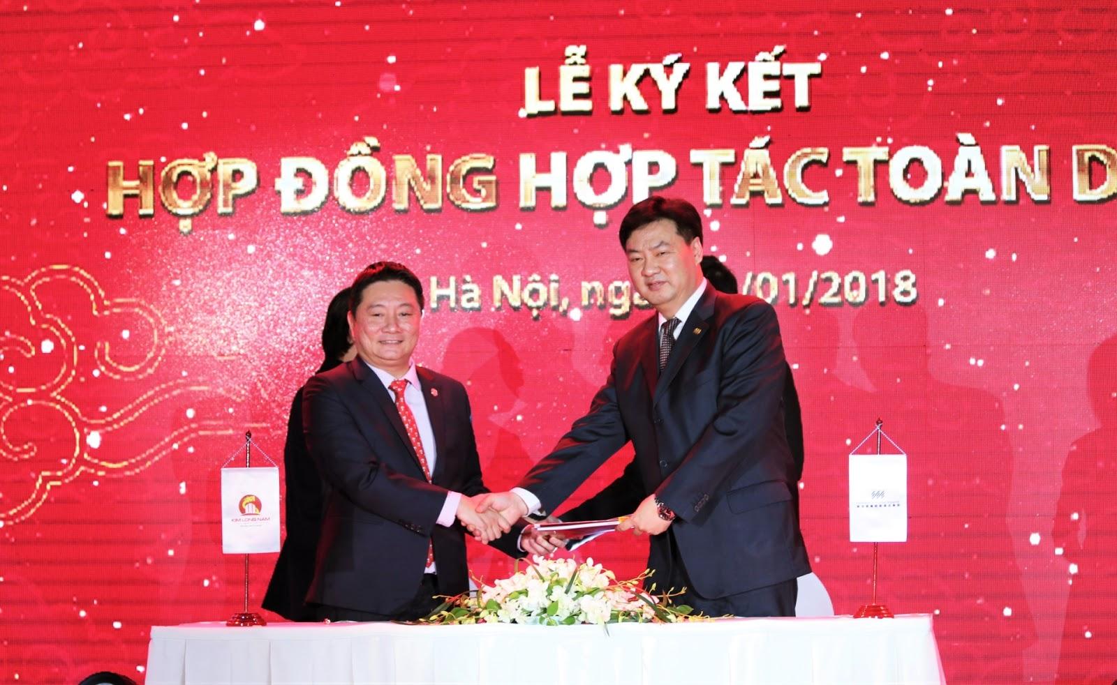 Lễ ký kết hợp đồng của Kim Long Nam Group