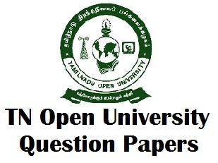 TNOU Model Question Paper