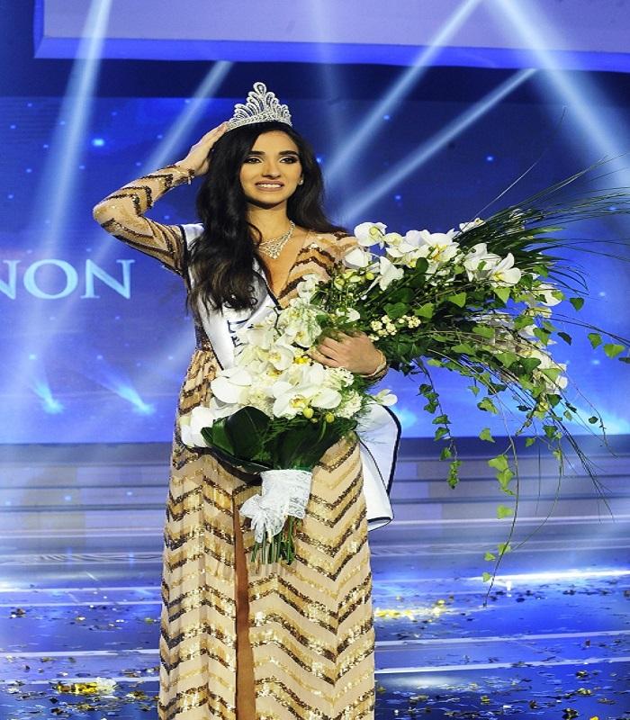 ملكة جمال لبنان ساندى تابت ..هل تستحق اللقب