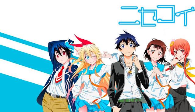 Anime Romance Comedy Terbaik Nisekoi