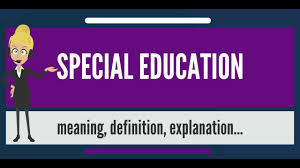 special education meaning definition explanation and disabilities like deaf blindness