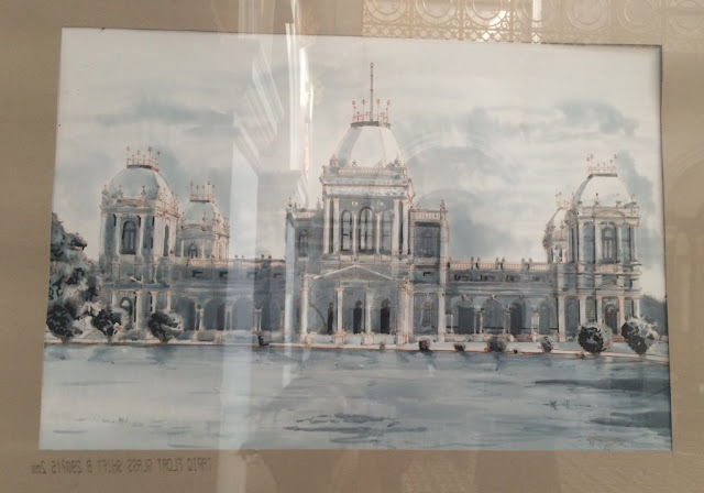 Oil Painting of Noor Mahal