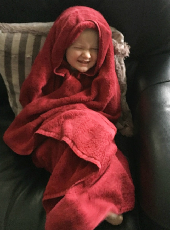 Our-weekly-journal-16th-jan-2017-toddler-wrapped-in-a-towel