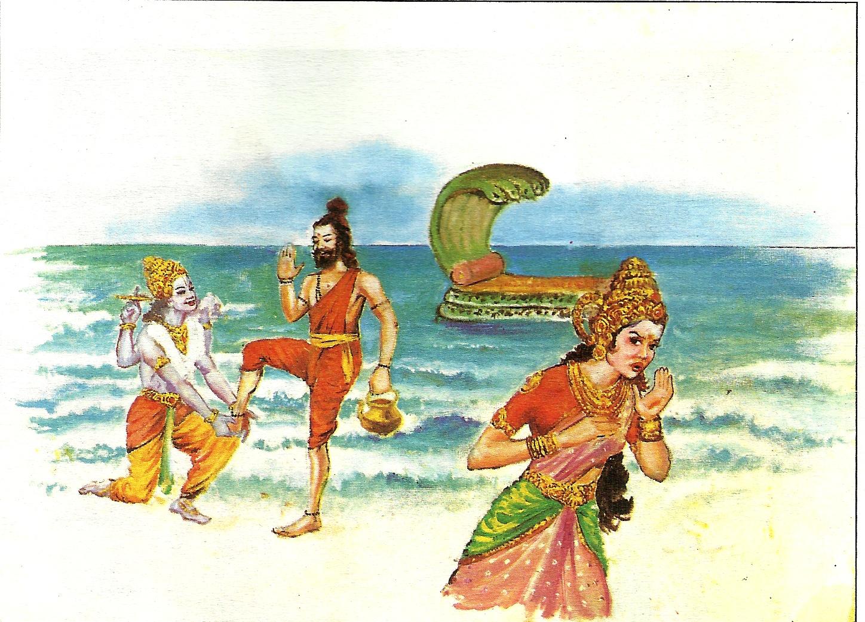 The Story of Sri Maha Vishnu Come to Earth -The Avatara of Sri