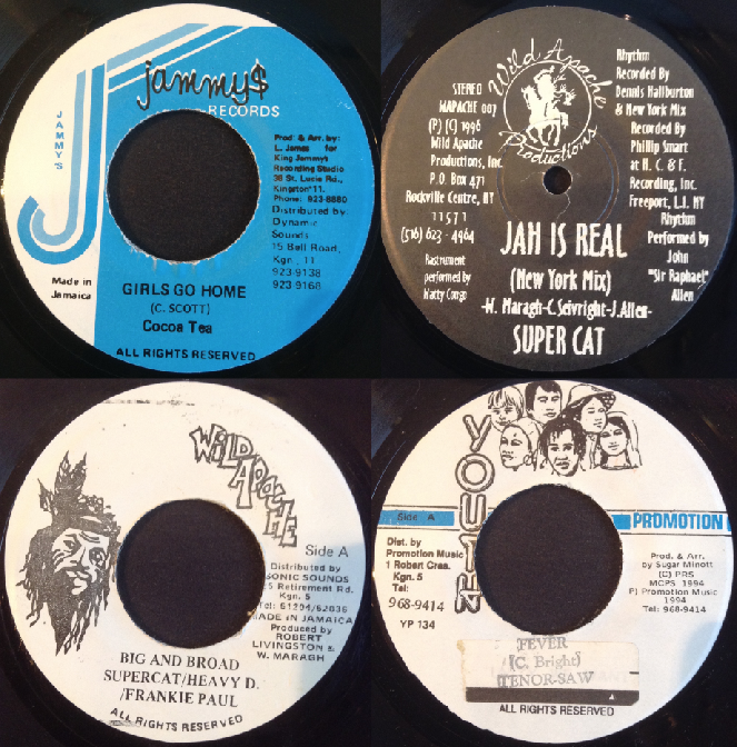 T.O.K.* TOK·/ Delly Ranks - Shining Star / Rfx - I'm In Love / Rfx