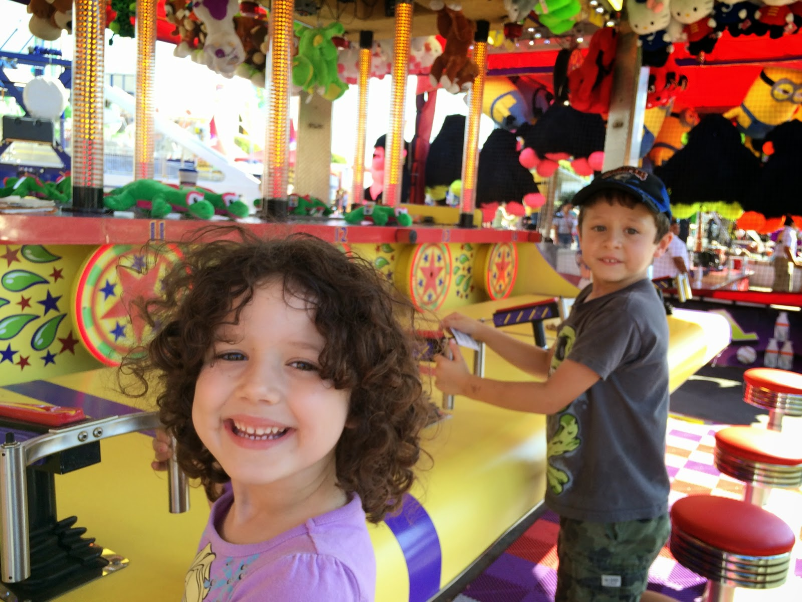 OC Fair, Costa Mesa, carnival, games, kids
