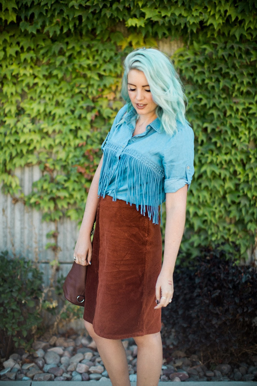 Fringe, Modest Outfit, Utah Fashion blogger