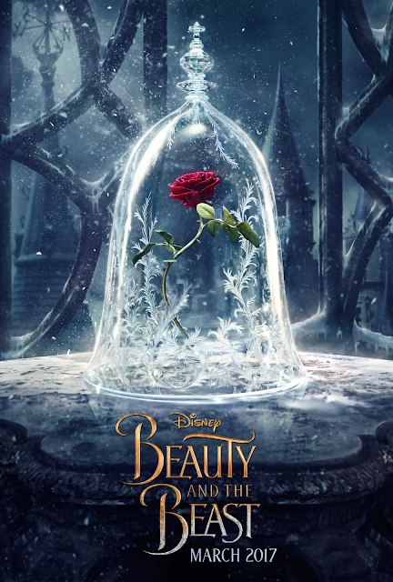 Disney Beauty and The Beast Official Poster, #BeOurGuest
