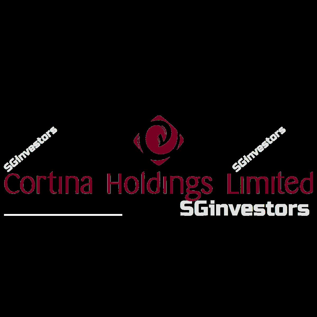 CORTINA HOLDINGS LIMITED (SGX:C41) @ SGinvestors.io