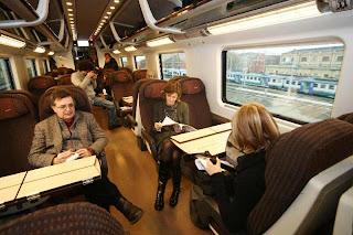 Frecciarossa second class seats