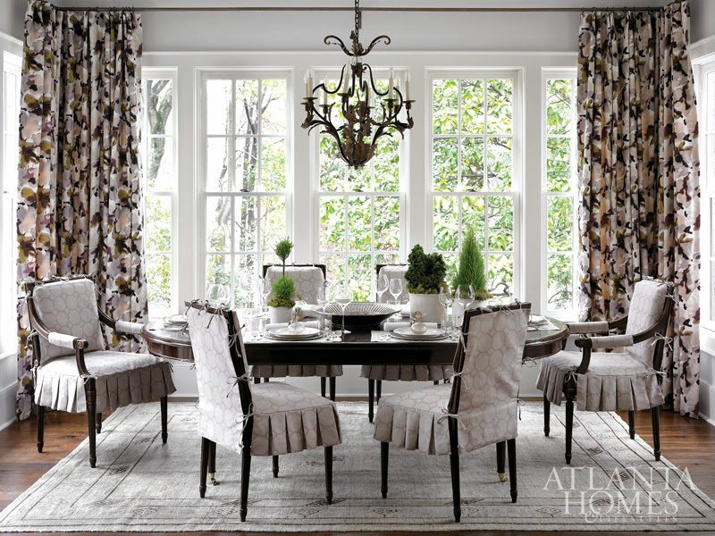 window treatements drapes floral trends
